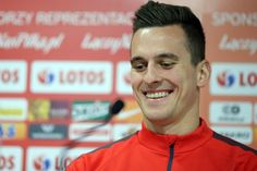 Polish striker Arek Milik
