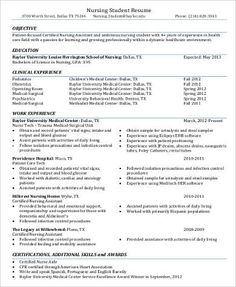 Sample Resume For Nursing Assistant Example Of Biochemistry Tutor Resume  Httpexampleresumecv .