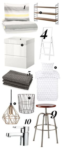 Some items on my wishlist: String Pocket shelf I just bought for myself and next I'd like to get things organized in our bathroom. | Riisa.net