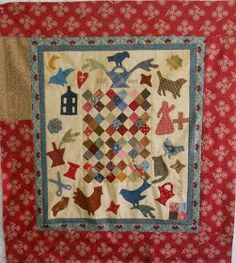 Log Cabin Quilter: Whatnots pattern by Cheri Saffiote-Payne.