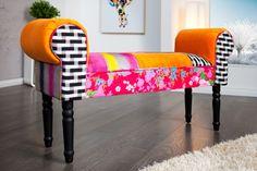 ŁAWKA PATCHWORK ławy ławki pufy DESIGN fotel sofa (5161845934) - Allegro.pl - Więcej niż aukcje.