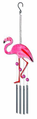 Sunset Vista Water's Edge Kathy Hatch Flamingo Bouncy Wind Chime, 12-Inch Long by Sunset Vista Designs, http://www.amazon.com/dp/B005BPYC6C/ref=cm_sw_r_pi_dp_1T3Xqb0J0MHY8