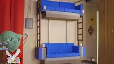 Lucky Family Gets A Real Double Decker Couch From <em>The Lego Movie</em> [Video]