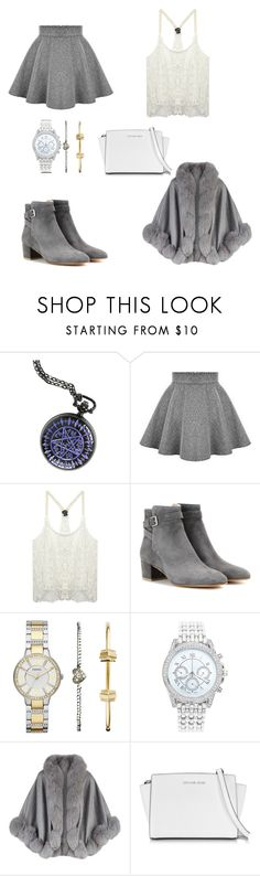 """""""I know it's bad but it's something"""" by blutbaden ❤ liked on Polyvore featuring Wet Seal, Gianvito Rossi, FOSSIL, Lane Bryant, Harrods, Michael Kors, women's clothing, women's fashion, women and female"""