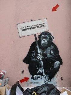 Too Much Monkey Business! - Jef Aerosol