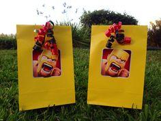 8 Clash of Clans Favor bags