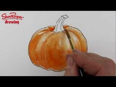 how to draw a pumpkin and everything else!!! Art Ed Central