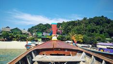 Phi Phi Island  #thailand #asia #discover #discovernewplaces #travel #traveling #beautiful #photooftheday #bestview #phiphiislands #boat… Phi Phi Island, Thailand, Asia, Traveling, Fair Grounds, Boat, Places, Outdoor Decor, Beautiful