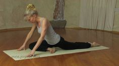 Yin Yoga routine for hips and lower back