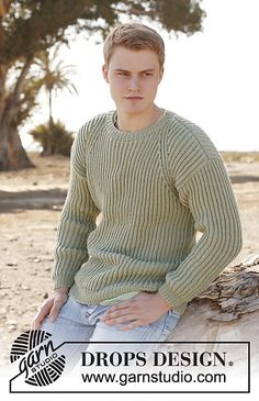 Ravelry: 0-898 Jumper in English rib in Karisma pattern by DROPS design