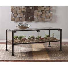 FREE SHIPPING! Shop Wayfair for Wildon Home ® Terrarium Coffee Table - Great Deals on all Furniture products with the best selection to choose from!