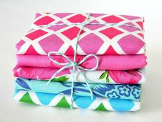Happy Land by Jennifer Paganelli - Fat Quarter Bundle. $15.00, via Etsy.