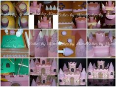 Castle Cake Tutorial by Cakes by Minel - The Cake Directory - Tutorials and More