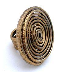 Patricia Moura Biojoias- anel em aluminio