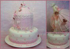 rosa Tauftorte Babyflascherl 3486192648