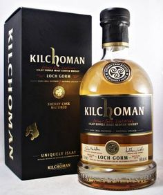 Kilchoman Loch Gorm Single Malt Scotch Whisky Sherry Cask Release. Loch Gorm combines rich sherry fruits and spices with smouldering peat, cloves and lingering sweetness
