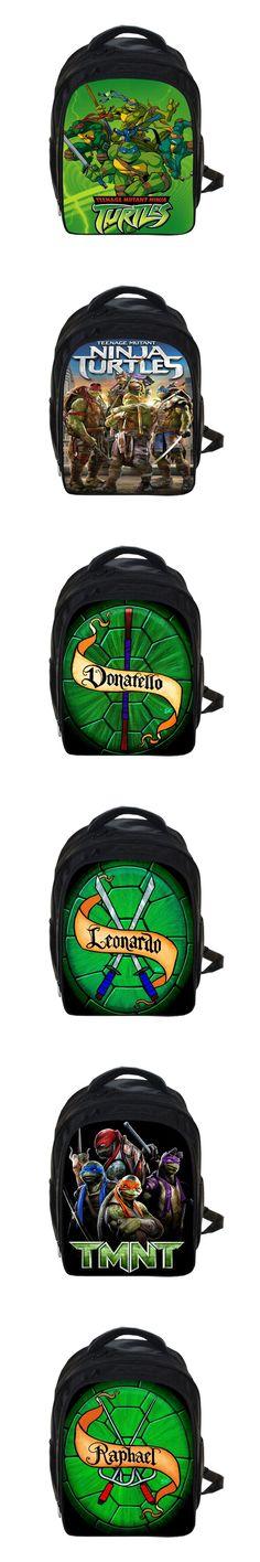 Anime Teenage Mutant Ninja Turtles Backpack TMNT Children School Bags Boys United Mutants School Backpacks Kids Kindergarten Bag