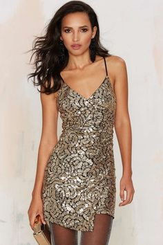 WYLDR Moving On Sequin Dress | Shop Product at Nasty Gal!