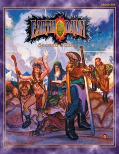 Earthdawn. A sleeper RPG. Not many people embraced it... ever. Nonetheless a solid fantasy RPG with races not seen in any other RPG. Tskrang!