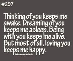 Love keeps you alive