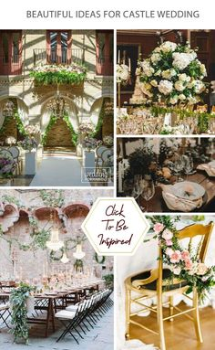 Castle wedding a definite style and romance. After all, the bride is a princess, and princesses live in castles.#weddingforward #wedding #bride