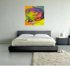 ABSTRACT PAINTING, Living Room Abstract Painting, Master Bedroom Abstract  Painting, Paintings Canvas, Namaste Wall Art, Wife Wall Art, Art | Art Art,  ...