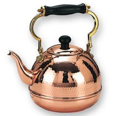 Hammered Copper Kettle.
