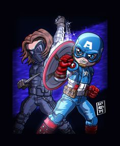 CapVsWintrSoldr 3D by lordmesa on deviantART
