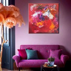 "midweek breather - boost youir energy levels with ""Awakening"" #originalart buy abstract art"