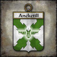 Ancketill Family Crest - Irish Coat of Arms