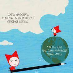"Second page of ""Ten ideas on ideas"". Haiku by Silvia Geroldi."