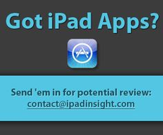 A site for all that is iPad- including best free app of the week.