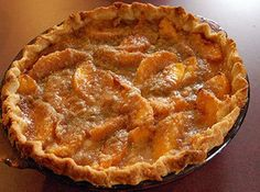 Farmhouse Peach Pie
