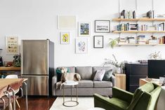 How to Train Your Dog When You Return to the Office, According to an Expert   Apartment Therapy Loft Interior Design, Interior Ideas, Real Estate Staging, Warm Industrial, Loft Interiors, Neutral Walls, Starter Home, Modern Loft, Loft Spaces