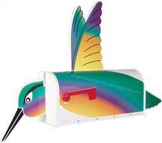 Hummingbird mailbox. You've Got Mail! 18 Crazy Cool Novelty Mailboxes