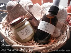 What a wonderful and thoughtful gift for a new mother.  So much focus is on the baby and yet it is the mother we need to be caring for so she can care for her baby! Better Than Eden: A Homemade Mama and Baby Postpartum Gift