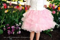Such a cute skirt! Want to make one for my little girl. She has so many other cute skirts I want to try my hand at.