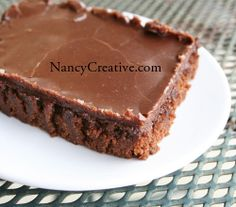 The Best (Texas) Chocolate Sheet Cake - my mother made this when I was a kid. We just called them brownies and loved them.