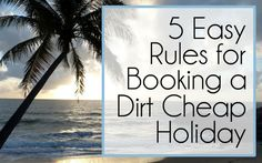 5 Rules for Booking a Dirt Cheap Holiday Hawaii Vacation, Hawaii Travel, Vacation Trips, Family Vacations, Budget Holiday, Cheap Holiday, Best Places To Travel, Places To Go, Hawaii Airlines