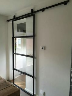 Modern Glass Sliding Door Designs Ideas for Your Bathroom – Decor Home Glass Barn Doors, Sliding Glass Doors, Sliding Door Design, Bathroom Doors, Interior Barn Doors, Door Design Interior, Luxury Interior, Exterior Design, Interior Architecture