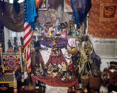 Altars, shrines, and other sacred spaces from all traditions and spiritual paths. Deana Lawson, Corn Husk Dolls, Pisces Moon, Documentary Photographers, Sabbats, Samhain, Moma, Pillar Candles, Hand Carved