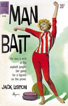 1960 _ Dell B-158 Man Bait Maguire by uk vintage, via Flickr