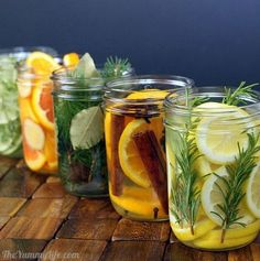 """15 Genius DIY Ways to Make Your Home Smell Wonderful. """"Natural Room Deodorizers"""" Natural Room Deodorizers Any jar combined with a few key elements will give you a beautiful and wonderfully smelling room freshener. Adding things like lemon slices or whole spices to a jar filled with water and other natural items will not only give you a beautiful decoration for any room, it will fill that room with a wonderfully natural scent that you just can't get from a spray can."""