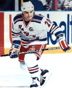 Tie spent parts of three seasons with the New York Rangers.