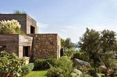 Maison pierre et bois Porto Vecchio Côté maison via Nat et nature