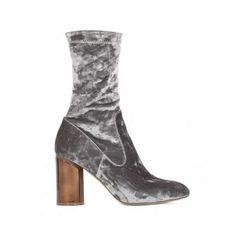 Elva Mirrored Heel Ankle Boots, Public Desire $60