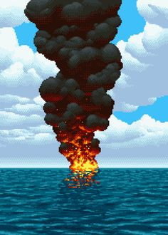 La Petite Boating Accident #pixelart