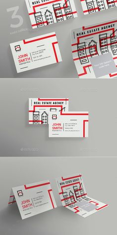 Real Estate Agency Business Card - Corporate Business Cards