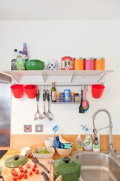 Jane's colourful kitchen. | MADE.COM/Unboxed