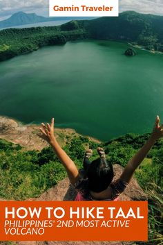 A full guide to hike Taal Volcano in Tagaytay. Hiking Taal Volcano: What to do & How to plan via @gamintraveler